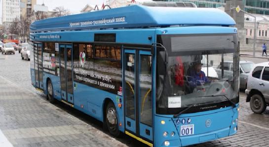 Электробус начал курсировать на улицах Уральской столицы