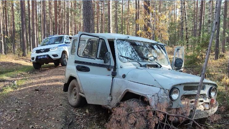 Нетрезвый водитель пытался скрыться от сотрудников ГИБДД в лесу