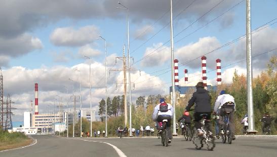 Участники «Атомного велопробега» замеряли радиационный фон