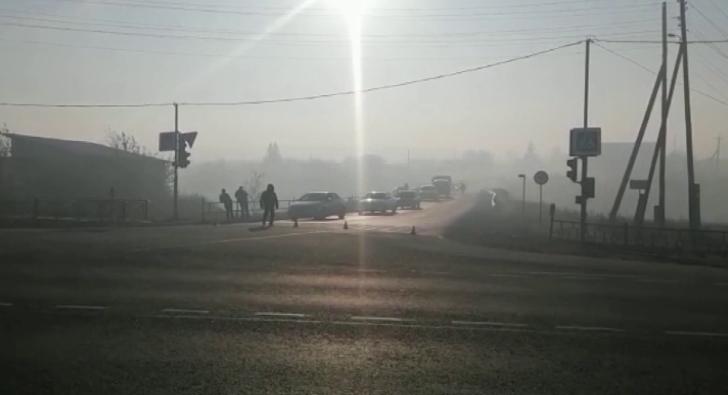 Из-за смога закрыли несколько участков трассы Екатеринбург-Шадринск-Курган