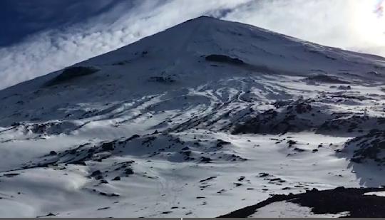 На Ключевской сопке приостановлены поиски уральского экстремала