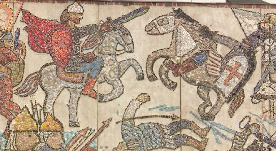 Мозаику, посвященную Александру Невскому, привезли в Екатеринбург