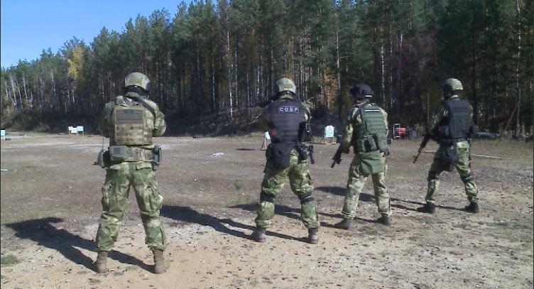 Бойцы СОБР провели учения