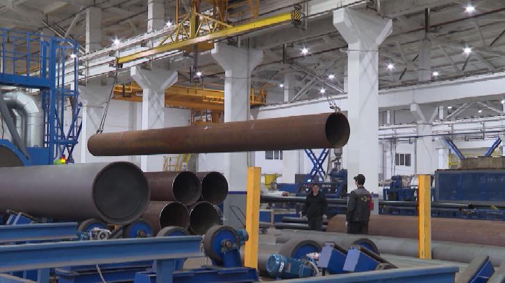 На Полевском заводе производят трубы для теплосетей по самым современным технологиям
