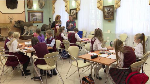 В Краеведческом музее провели эко-урок для школьников