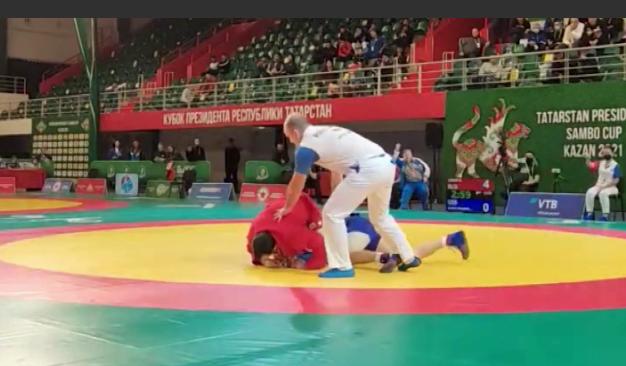 Пять медалей завоевали уральские самбисты на Кубке президента Татарстана