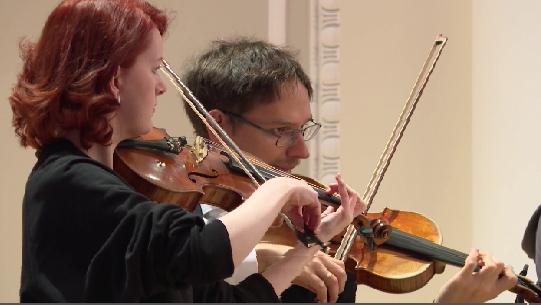 На сцене Свердловской филармонии выступил Российский национальный оркестр