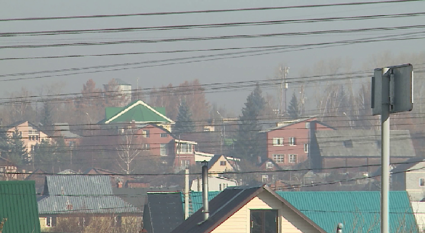 Екатеринбург окутал дым от горящих торфяников