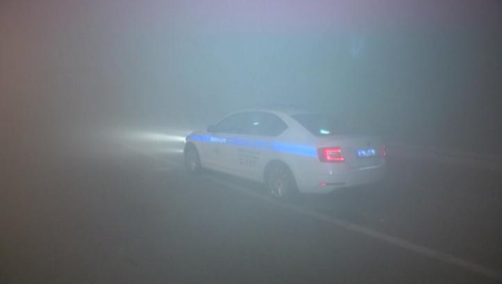 Густая дымка смога окутала Уральскую столицу